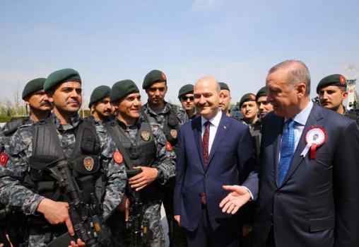 Cumhurbaşkanı Erdoğan'dan Külliye'de anlamlı kabul