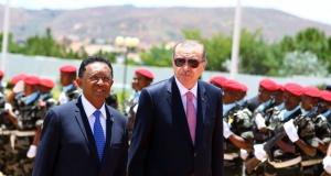 Erdoğan, Madagaskar'da