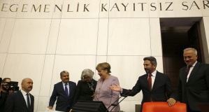 Merkel, TBMM'de