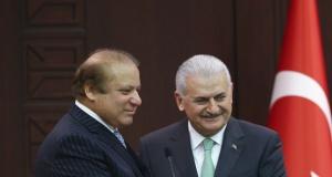 Pakistan Başbakanı Navaz Şerif Ankara'da