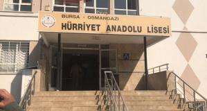 Hürriyet Anadolu Lisesi'nde cinayet
