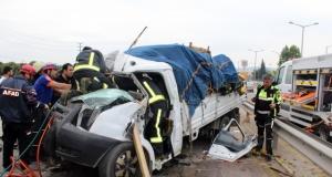 Bursa terminal yolunda feci kaza: 1 ölü