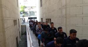 Bursa'da operasyon! 21 şüpheli gözlatında