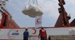 Türk Kızılayından Yemen'e yardım