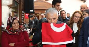 Başbakan Binali Yıldırım, Çanakkale'de