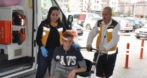 Bursa'da okul yolunda feci kaza! Yaralılar var