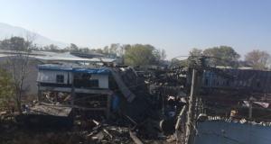 Bursa'daki patlamadan yeni görüntüler