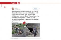 Terör örgütü yandaşlarının yalanları bitmiyor!