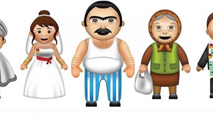 Türkler için özel emoji klavye