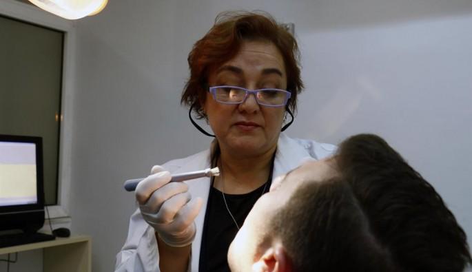 Ağız kanseri için biyopsi fırçası geliştirildi