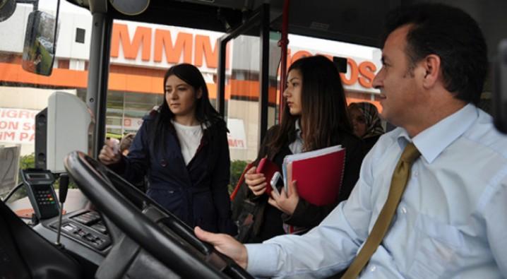 Bursa'da artık kadınlar istediği yerde inebilecek
