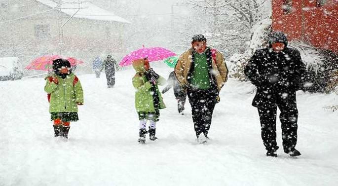 Bursa'da okullar yarın tatil