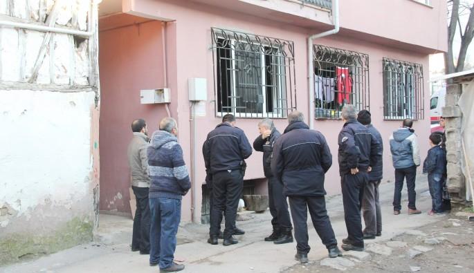 Bursa'da soba yangını