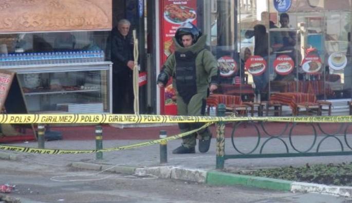 Bursa Emniyet Müdürlüğü önünde bomba paniği
