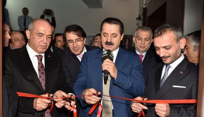 Bursa TV'nin Ankara Stüdyolarının açılışı dualarla yapıldı