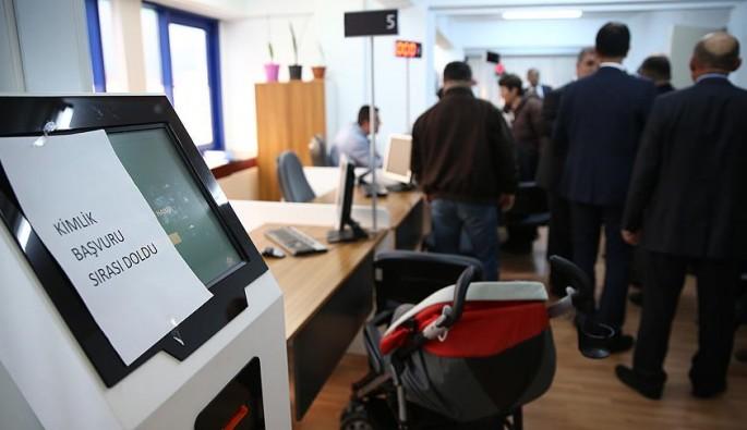 Çipli kimlik kart başvurularında Bursa ilk 5'te