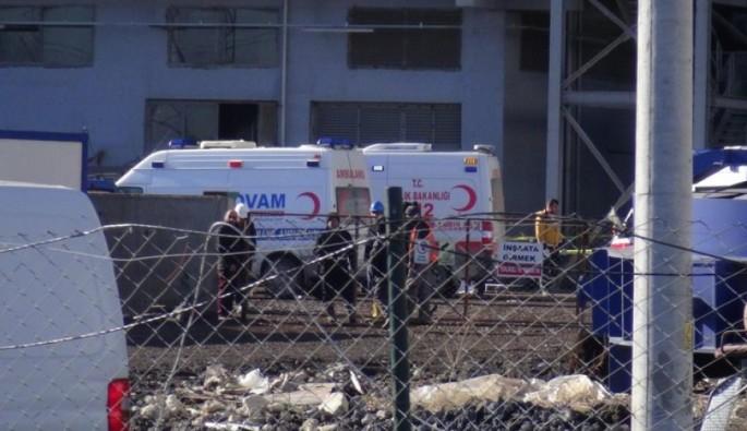 Fabrikada patlama meydana geldi: 1 ölü