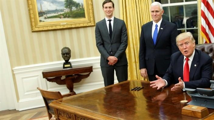 Trump Beyaz Saray'da değişiklik yaptı