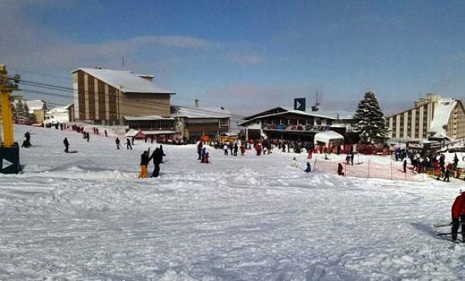 Uludağ'da kar kalınlığı 255 santimetre oldu