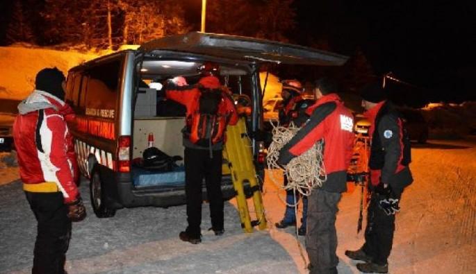 Uludağ'da kaybolan genç kız 16 saat sonra bulundu