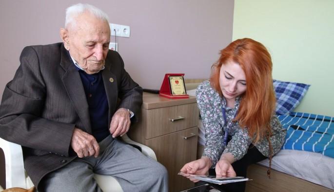 102 yaşındaki Gürdaş uzun ömrün sırrını paylaştı