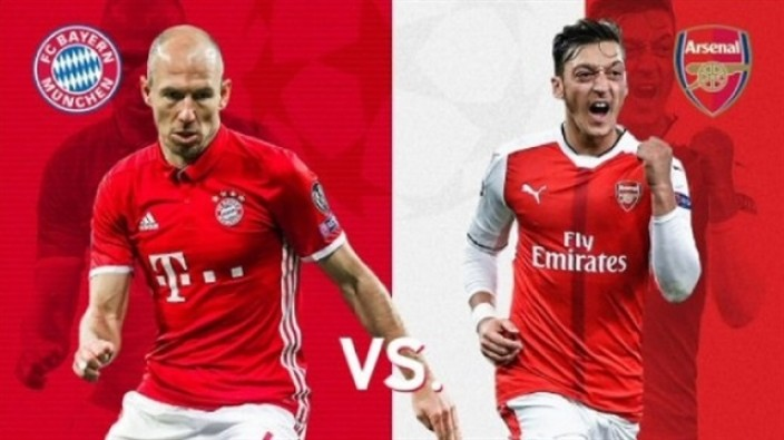 Bayern Munih Arsenal Şampiyonlar Ligi maçı ne zaman?