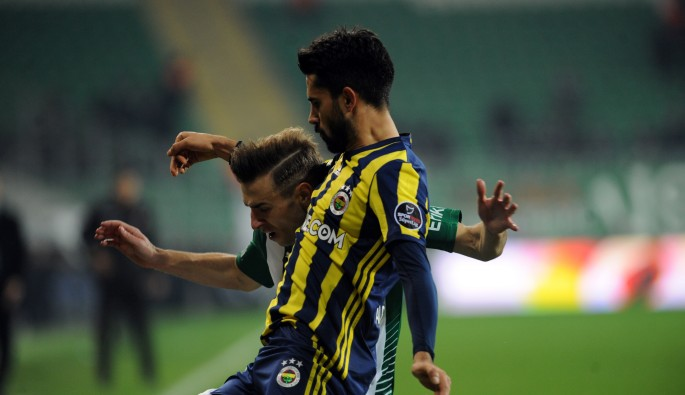 Bursaspor kendi evinde Fenerbahçe ile berabere kaldı