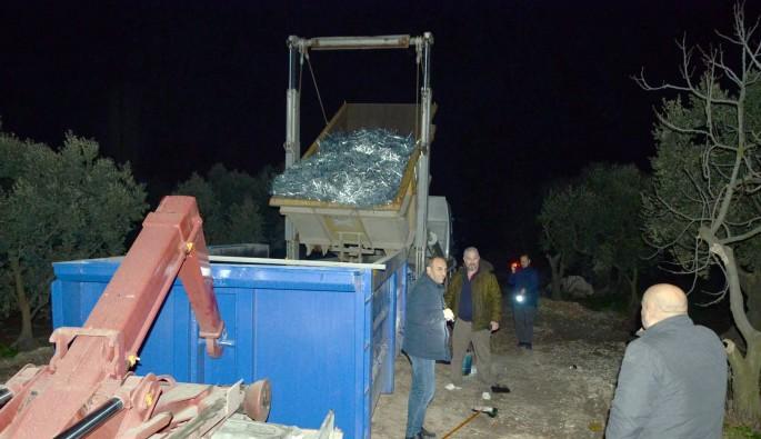 Bursa'da hurda hırsızlarına suçüstü