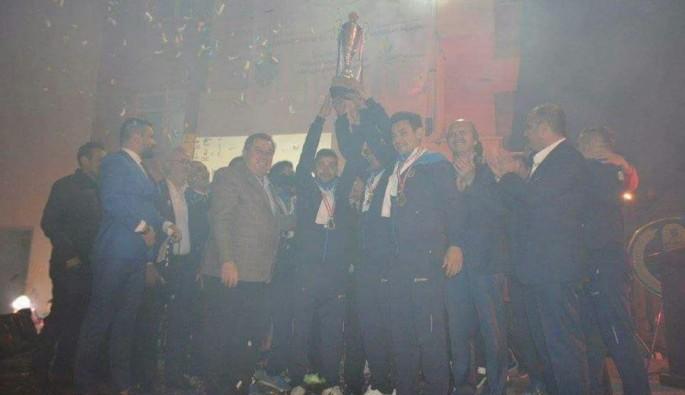 Bursa'da namağlup şampiyona coşkulu kutlama