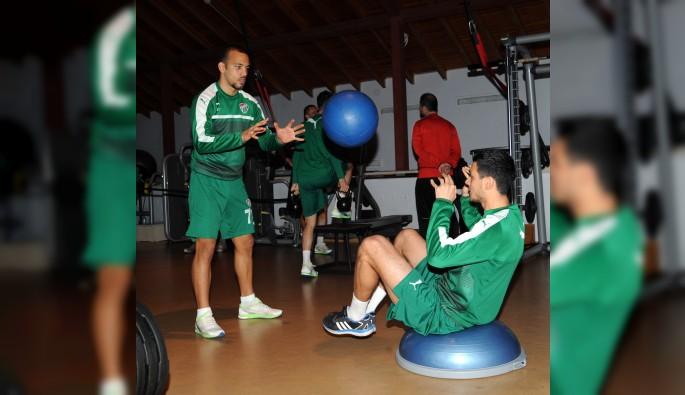 Bursaspor Kasımpaşa maçı hazırlıklarına devam ediyor