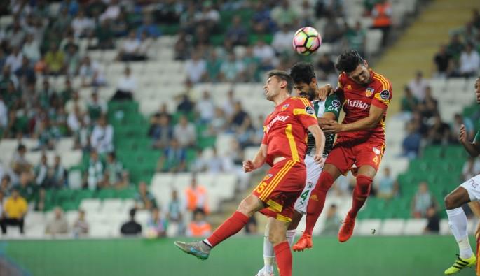 Bursaspor'da 3 puan parolası