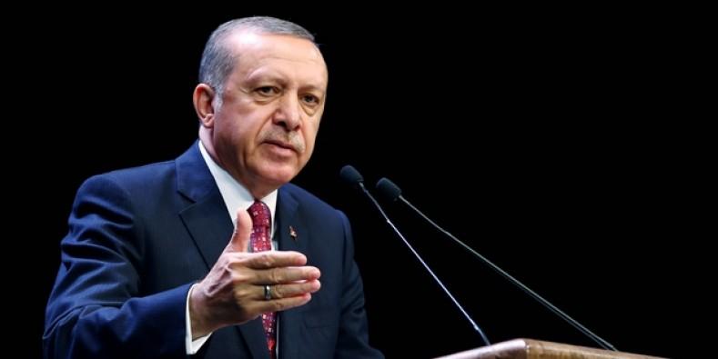 """Erdoğan """"planlanan uygulama yürütülmektedir"""""""
