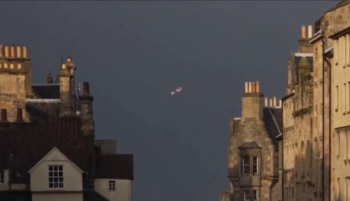 Fransa'da UFO paniği