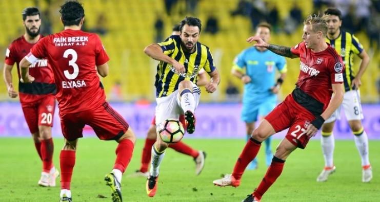 Gaziantepspor: 1 - Fenerbahçe: 1