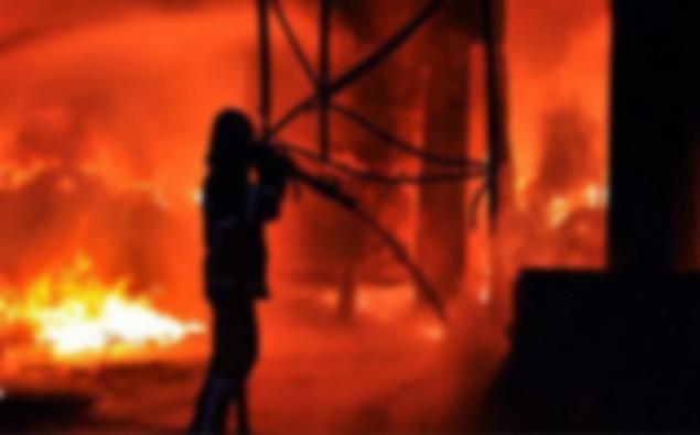 İznik'te tatil köyündeki restoranda yangın çıktı