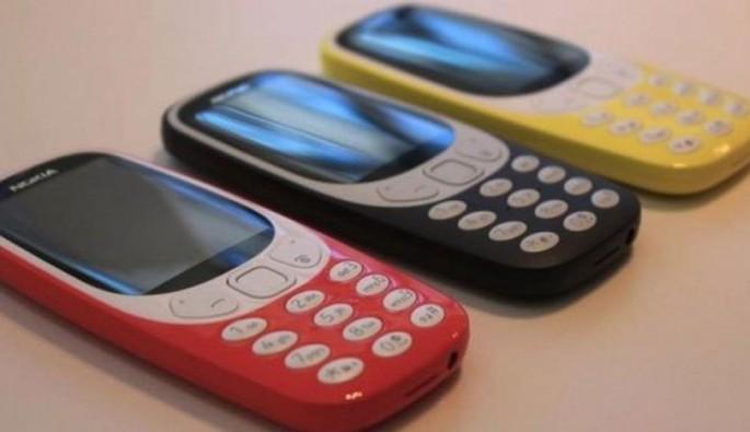 Nokia'nın efsane telefonu 3310 geri döndü