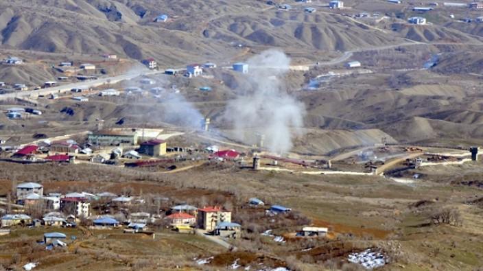 PKK hedefleri yerle bir edildi