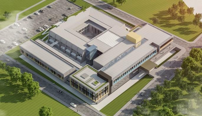 Uludağ Üniversitesi'ne yeni bina