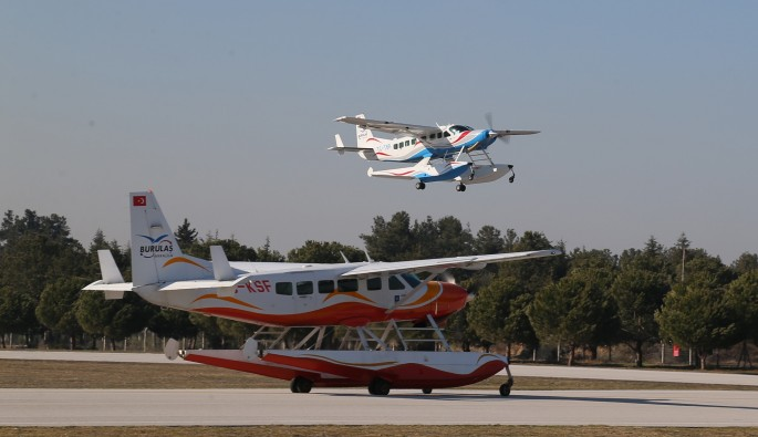 Yunuseli Havalimanı'nda tarifeli seferler başlıyor