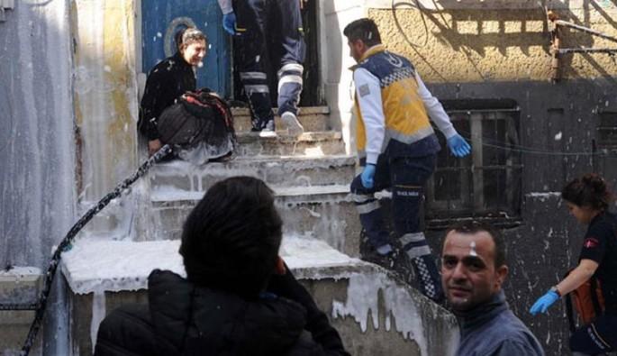 Beyoğlu'nda çıkan yangında üç çocuk hayatını kaybetti