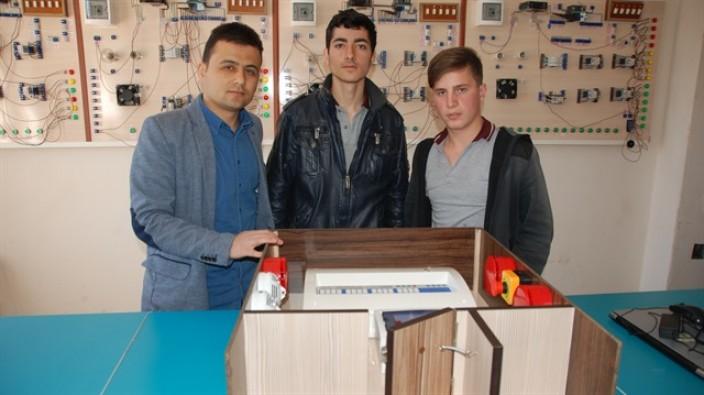 Lise öğrencilerinden müthiş proje
