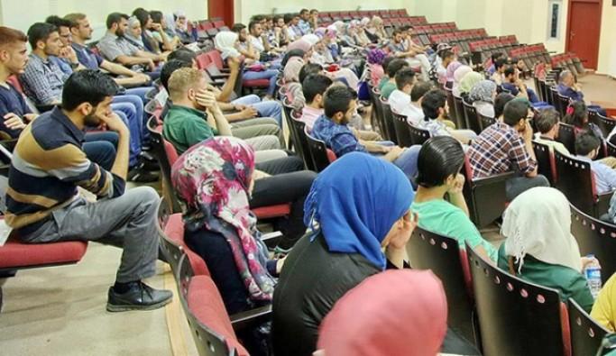 Suriyeli üniversite öğrenci sayısı açıklandı