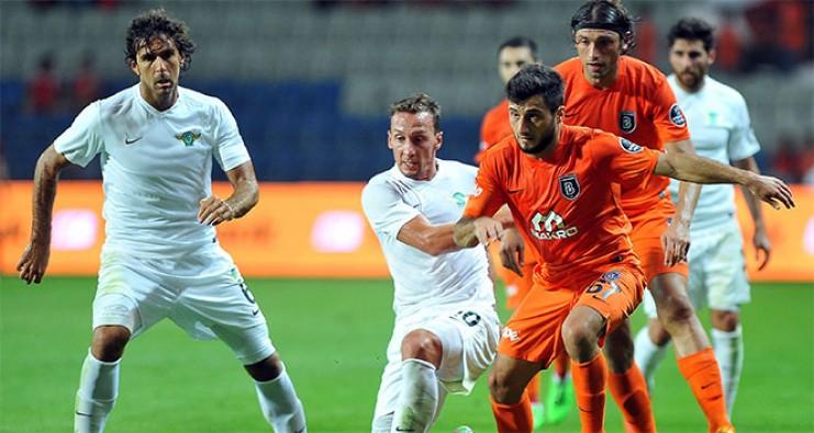 Akhisar Belediyespor - Medipol Başakşehir maçı