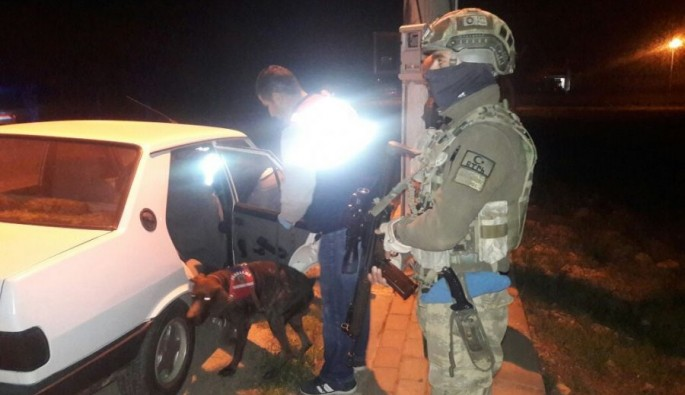 """Bursa'da JÖH destekli """"huzur"""" operasyonu"""