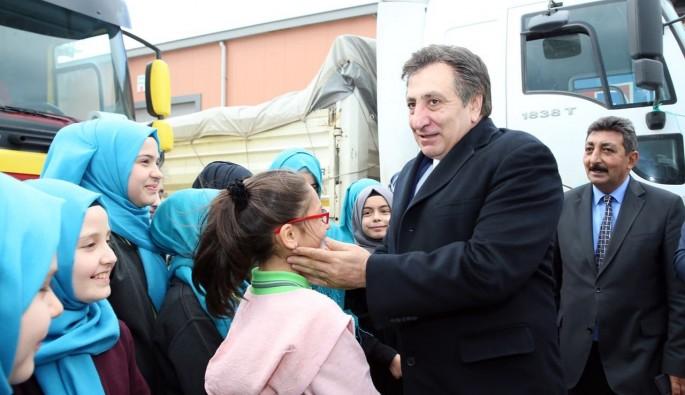 Bursa'dan El-Bab'a yardım eli