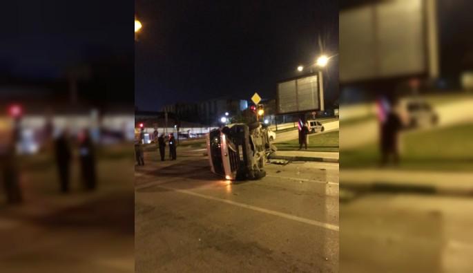 Bursa Yıldırım'da trafik kazası: 3 yaralı
