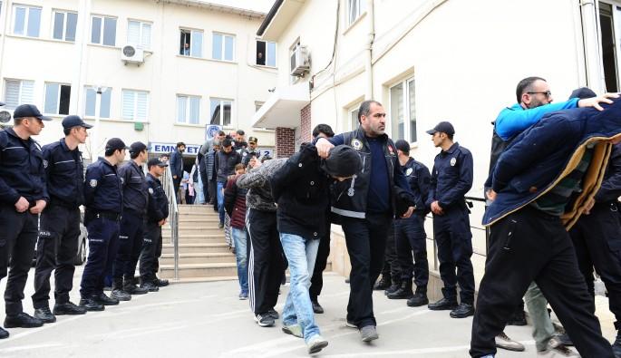 Dev uyuşturucu operasyonunda 25 tutuklama