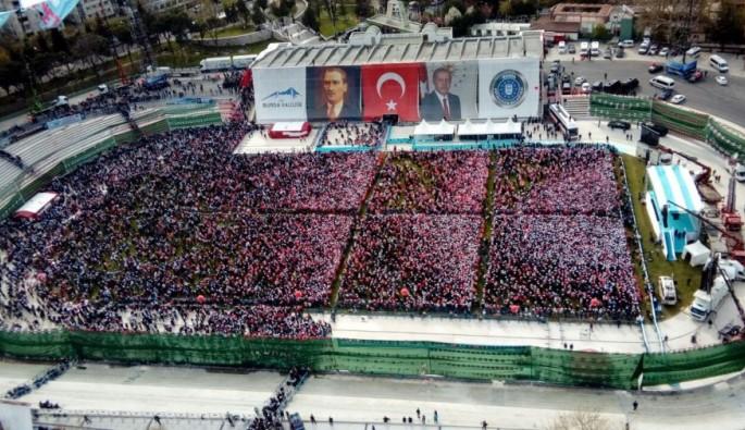 Erdoğan Bursa'ya geldi