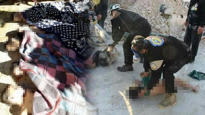 Esed rejimi kimyasal silahla katlediyor