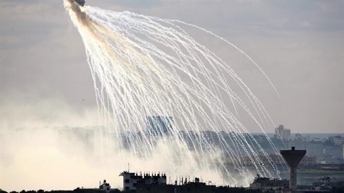 Esed rejiminden İdlib'de fosfor gazlı saldırı